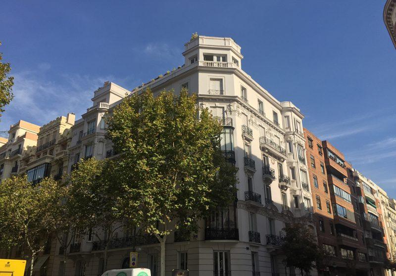 Rehabiliación Integral Edificio Uso Mixto Velazquez 98