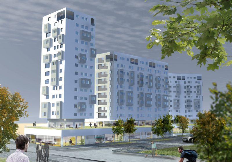 Viviendas con Centro Comercial en Belgaid