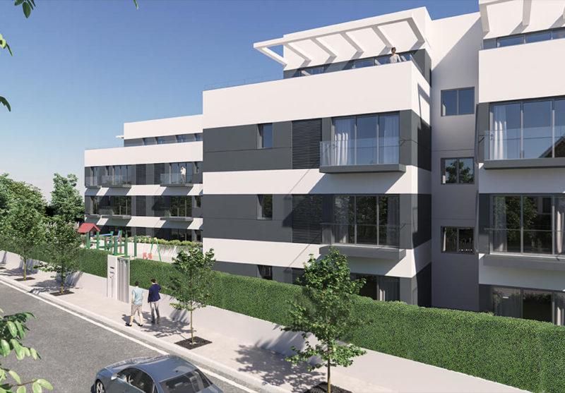 Urbanización de 32 viviendas en Alcorcón