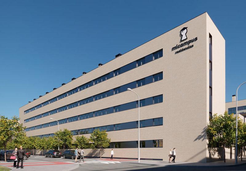 Residencia de estudiantes en Getafe