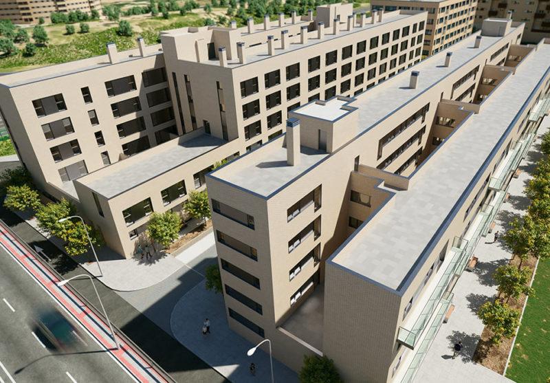 Edificio de 68 viviendas en Getafe